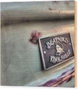 Beatniks - Koolsville Wood Print