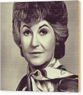 Beatrice Arthur, Vintage Actress Wood Print