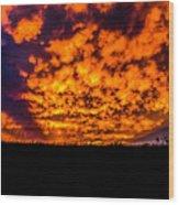 Beatrice, Nebraska August 2015 Wood Print