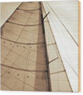 Beaufort Sails 1 Wood Print