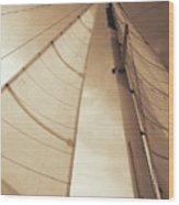 Beaufort Sails 2 Wood Print