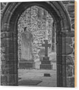 Beauly Priory Arch Wood Print