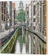 Beautiful Amsterdam Wood Print