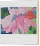 Beautiful Azalea Wood Print