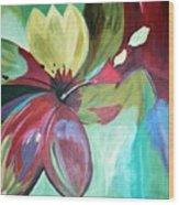Beautiful Bloom Wood Print