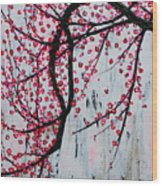 Beautiful Blossoms Wood Print