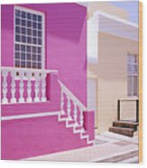 Beautiful Bo Kaap Wood Print