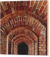 Beautiful Brick Wood Print