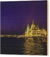 Beautiful Budapest Parliament Wood Print