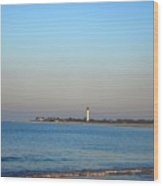 Beautiful Day In Cape May Wood Print