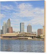 Beautiful Day Tampa Bay Wood Print