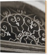 Beautiful Door Decoration Wood Print