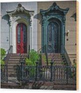 Beautiful Doors On Bull Street Wood Print