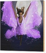 Beautiful Fairy Wood Print