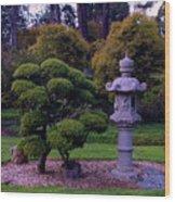 Beautiful Gardens Wood Print