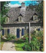 Beautiful Home ... Wood Print