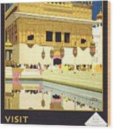 Beautiful India Poster Wood Print
