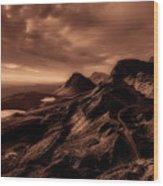 Beautiful Isle Of Skye Wood Print
