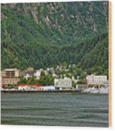 Beautiful Juneau Alaska Wood Print