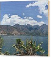 Beautiful Lake Atitlan Wood Print
