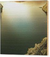 Beautiful Lake  Wood Print