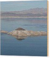 Beautiful Lake Mead Wood Print