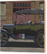 Beautiful Model T Touring Car Wood Print