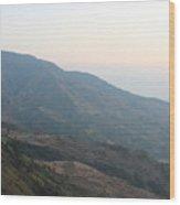 Beautiful Mountain Wood Print