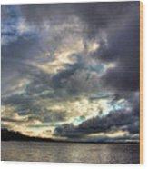 Beautiful Oklahoma Skies Wood Print