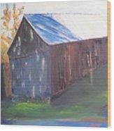 Beautiful Old Barn Wood Print