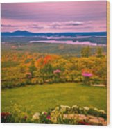 Beautiful Overview Of New Hampshire Wood Print