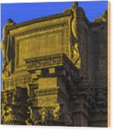 Beautiful Palace Of Fine Arts Wood Print