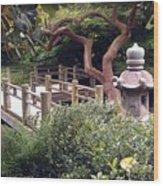 Beautiful Park In San Francisco Wood Print
