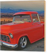 Beautiful Pick Up Truck Wood Print