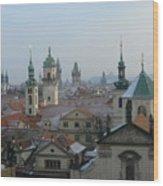 Beautiful Prague Wood Print