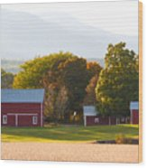 Beautiful Red Barn 3 Wood Print