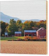 Beautiful Red Barn 4 Wood Print