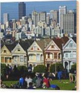 Beautiful San Francisco Wood Print