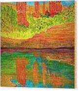 Beautiful Sedona Wood Print