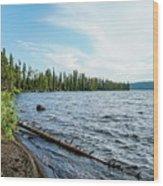 Beautiful Shoreline Wood Print