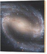 Beautiful Spiral Galaxy Wood Print