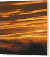 Beautiful Sunset Wood Print