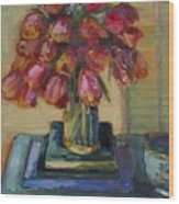 Beautiful Tulips Wood Print