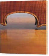 Beautiful Violin Wood Print