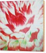 Beauty And The Flaming Tongue Wood Print