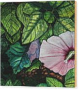 Beauty In Bloom Wood Print