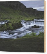 Beauty Is Everywhere In Iceland Wood Print