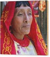 Beauty Of A Woman Wood Print
