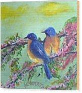 Beauty Of Birds Wood Print