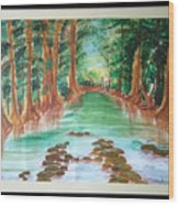 Beauty Of Nature Wood Print